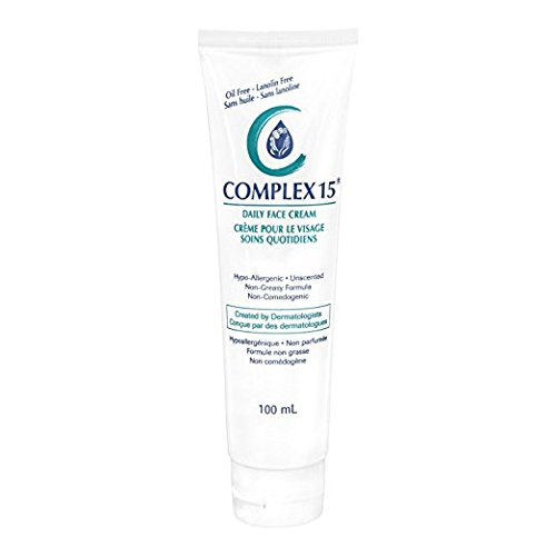 Complex 15 Daily Face Cream, 3.4 Ounce (Pack of 2)