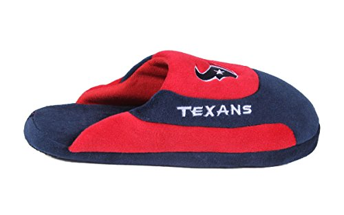 Low Feet NFL Mens Slippers Feet Womens LICENSED Happy OFFICIALLY and Pro Low Houston Pro Texans Comfy qEzTw