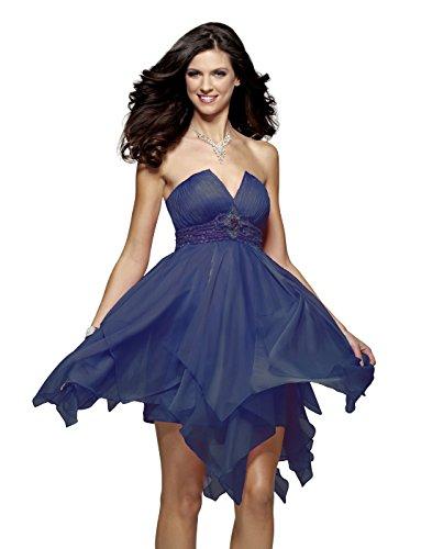 Iridescent Short Dress Cocktail Dress - 6