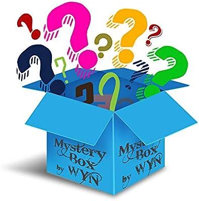 WYN Fun Treasure Caja de Misterio Gadgets – Surtido de coleccionables, tecnología, Azul líquido Vintage, Nombre de la Marca, artículos de Belleza, ...