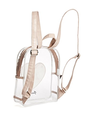 f15eb2998182 GUESS Factory Girl s Clear Heart Backpack  Amazon.ca  Luggage   Bags