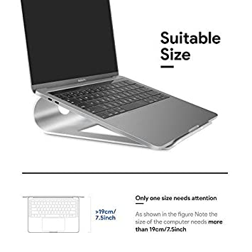 "SAUSIRE Soporte universal de aluminio para ordenador portátil (11""~15"") –"