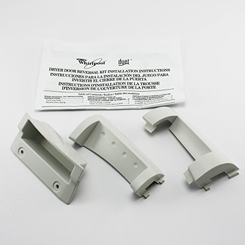 Whirlpool Duet Door Reversal Kit - White, Model: 8530070 (Tools & Outdoor gear supplies) Duet Door Reversal Kit