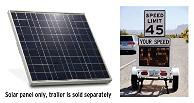 Best Cheap Deal for 50W Solar Panel Package for Fast s Fast-650 & 820 Radar Trailer from TAPCO Approved Supplier - Free 2 Day Shipping Available