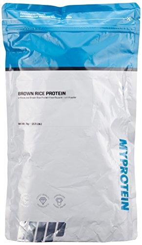 Myprotein Brown Rice Protein Unflavoured, 1er Pack (1 x 1 kg)