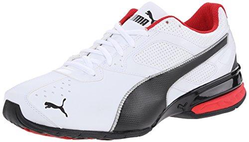 Puma Men's Tazon 6 Cross-Training Shoe, White/Black/Silve...