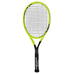 The Head Graphene 360 Extreme MP Tennis Racquet for 2019 is geared towards intermediate to advanced players looking for extra spin, control, and comfort.              The layer of Graphene 360 embedded into the frame dampens u...