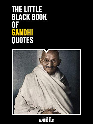 Gandhi Quotes On Peace New The Little Black Book Of Gandhi Quotes His Thoughts On Peace