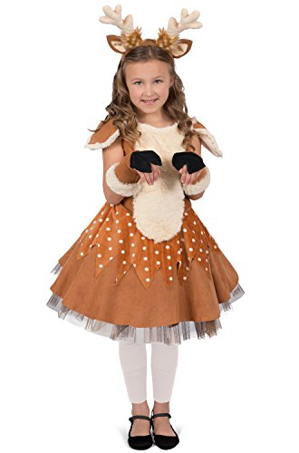 Deer Halloween Costumes (Princess Paradise Doe The Deer Costume, Multicolor, X-Small)