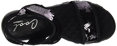 COOLWAY 10065060700038, Sandalias Mujer Negro (Abk / Coco)