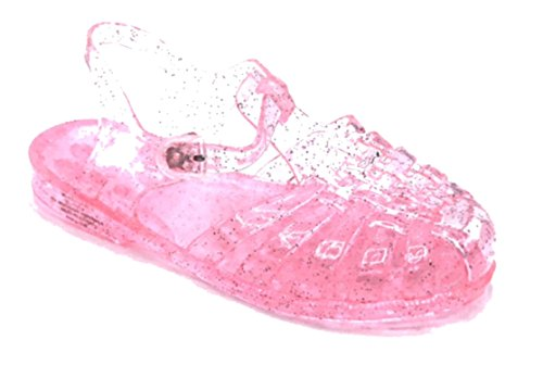 Picture of Vesto Toddler Girls Fisherman Jelly Sandals with Glitter