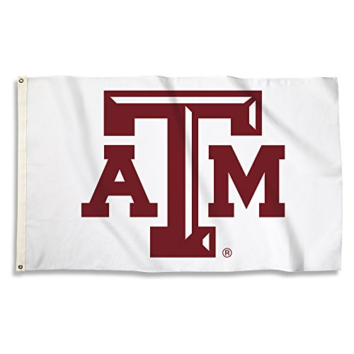 (NCAA Texas A&M Aggies Flag with Grommets, 3' x 5', Team Color)