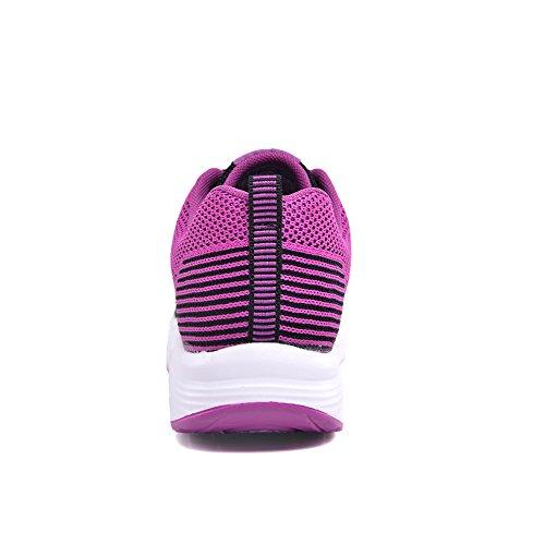 Gaatpot Zapatillas Purple Para black Mujer rrgx7qT
