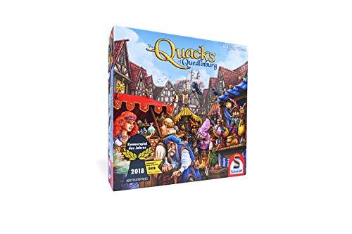 Schmidt Spiele Quacks of Quedlinburg Game Family, Multicolour (Game Herb Board)