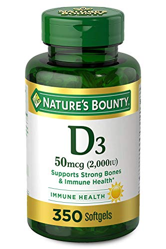 Vitamin D by Nature's Bounty for Immune