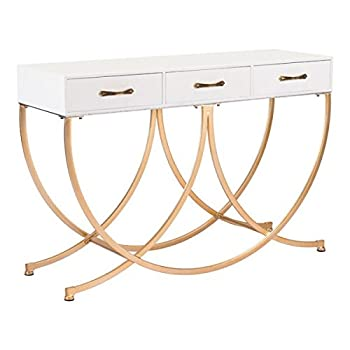 Zuo Infinity Console Table, White
