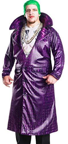 Rubie's Men's Suicide Squad Plus Size Deluxe Joker Costume, Multicolor, One]()