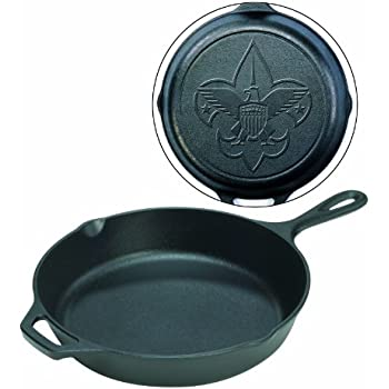 Lodge Boy Scouts of America Pre-Seasoned 12-Inch Skillet