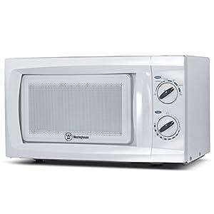 Westinghouse, WCM660W, Countertop Microwave Oven, 600 Watt, 0.6 Cubic Feet, White