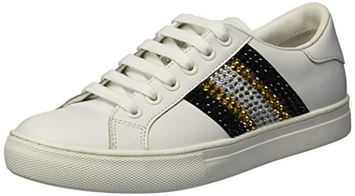 Marc Jacobs Women's Empire Strass Low TOP Sneaker, Black/Multi, 36 M EU (6 US)