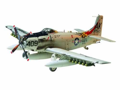 Tamiya Models Douglas A-1H Skyraider Model Kit
