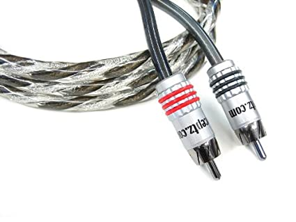 Karma Kable 2 Channel 6M Twisted Coaxial RCA Cable 20