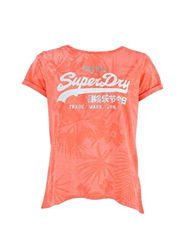 Camiseta Superdry Hawaiian Rosa