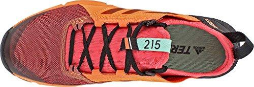 Adidas Sport Performance Kvinna Terrex Agravic Hastighet Sneakers Taktil Rosa, Svart, Lätt Apelsin