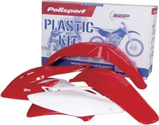 Polisport Plastics Kit Red for Honda CRF450R CRF 450R 05-06 (Accessories 450r Crf)