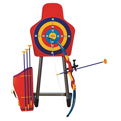 S&S Worldwide Skillbuilder Bow and Arrow Target Set