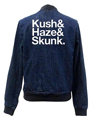 Skunk Certified Kush Jeans Girls Bomber Haze Chaqueta Freak amp; qx0nr0EHv