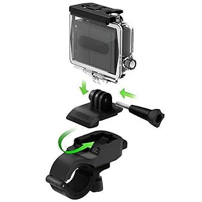 iOttie Active Edge Bike & Bar Motorcycle Mount for iPhone 7/6 (4.7), Galaxy S6/S6 Edge & GoPro Hero 4, Hero 3, Hero 3+ - Black