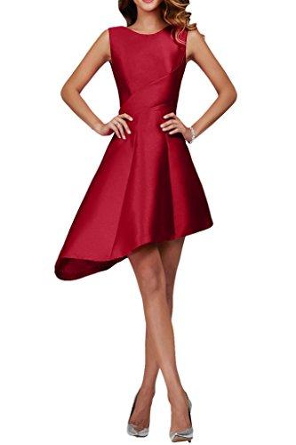 Missdressy - Vestido - trapecio - para mujer borgoña 50