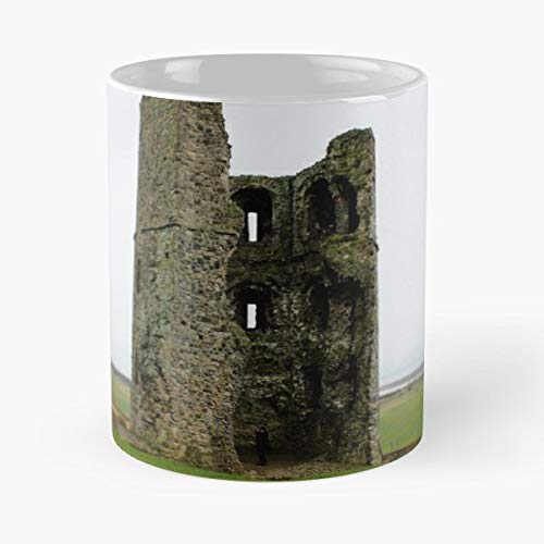 - Hadleigh Castle Park Field Ceramic Coffee Mugs, Funny Gift