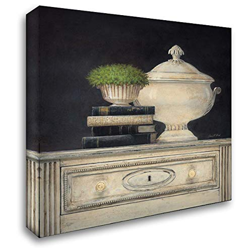 Cream Tureen 41x41 Extra Large Gallery Wrapped Stretched Canvas Art by Fisk, Arnie