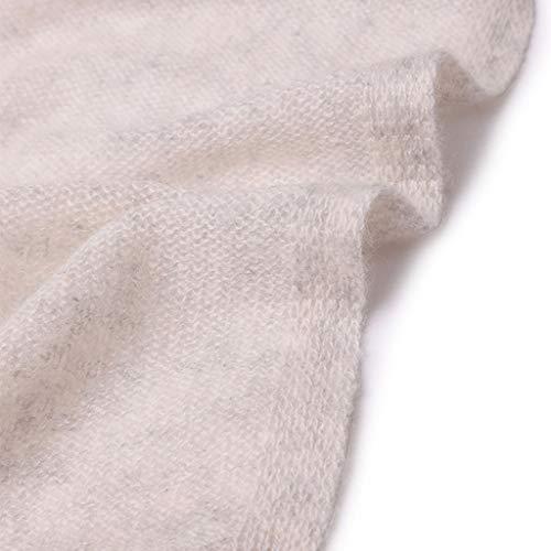 Sciarpa Inverno Caldo colore Uomo Cammello Decorativo Strisce Chiaro Grigio Collo Autunno E Lunga Donna Solido Maglia Di Colore rx1rAqYw