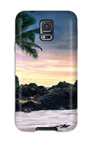 Itky Kreindler Price's Shop 5073499K91434364 Durable Case For The Galaxy S5- Eco-friendly Retail Packaging(hawaii Secret Beach)