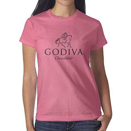 QUYNFFRDS Godiva-Logo Short Sleeve T Shirt Slim-Fit Printing Environmentally Friendly ()