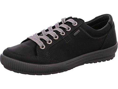 à Chaussures ville 00615 pour lacets femme 01 de Legero Schwarz 6qXpxSwq