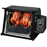 Automatically Shuts Ronco 4000 Showtime Standard Rotisserie - Black (4000 Series, Black)