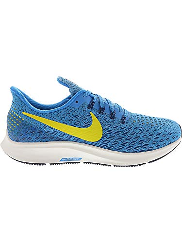 Nike Men's Air Zoom Pegasus 35 Blue Orbit/Bright Citron Ankle-High Mesh Running Shoe - 6.5M by Nike (Image #5)
