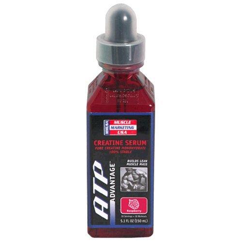 Serum Raspberry Atp Creatine - Muscle Marketing USA ATP Advantage Creatine Serum, Raspberry, 5.1-Ounce Bottle by Muscle Marketing