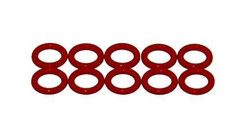 Sterling Seal ORSIL222x10 Number-222 Standard Silicone O-Ring has Excellent Resistance to Oxygen, Ozone and Sunlight, Vinyl Methyl Silicone, 70 Durometer Hardness, 1-1/2