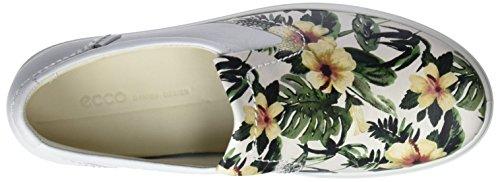 Soft Mujer Ecco Zapatillas white Multicolor flower Para Print 7 dIqZxwqF