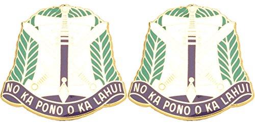 322nd CA BDE USAR Distinctive Unit Insignia - Pair ()
