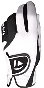 TaylorMade Targa Glove (Left Hand, White/Black, Small)