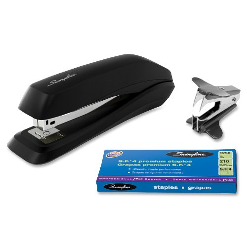 Swingline Standard Stapler Value Pack, Includes Stapler, 1250 Staples and Staple Remover, Black - Stapler Standard Acco