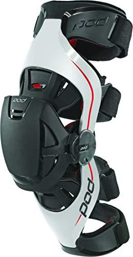 POD K4014-595-MD/LG Unisex-Adult K4 Knee Brace (Grey/Red