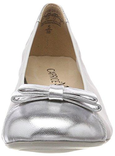 Grey Lt Mul Grau 213 Ballerinas 22108 Damen Pe Caprice 7wfq4XxTW