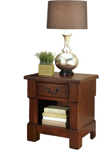 Home Styles 5520-42 Aspen Collection Night Stand, Rustic Cherry ()
